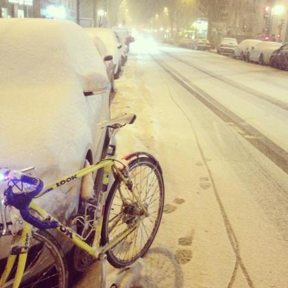 KG dans la neige